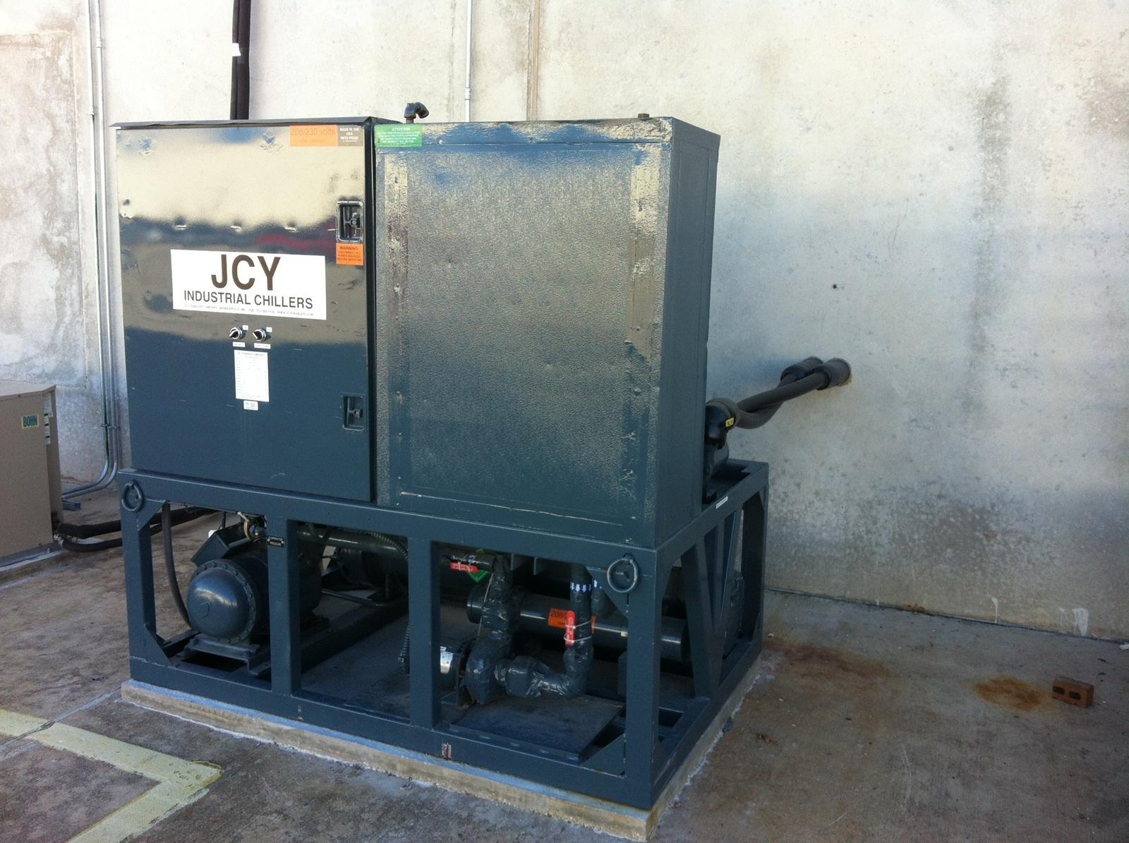 curb side chiller rentals available